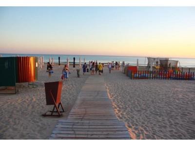 Пансионат Фея-2,  песчаный пляж