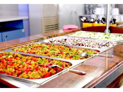 Пансионат Фея-2,  питание все включено, столовая, блюда